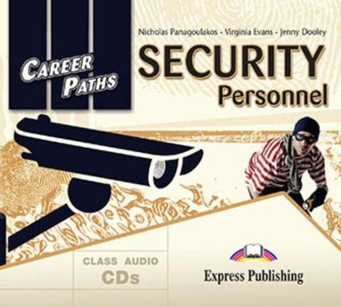 Security Personnel (Esp). Audio CDs (set of 2). Аудио CD  для работы в классе (2 шт)
