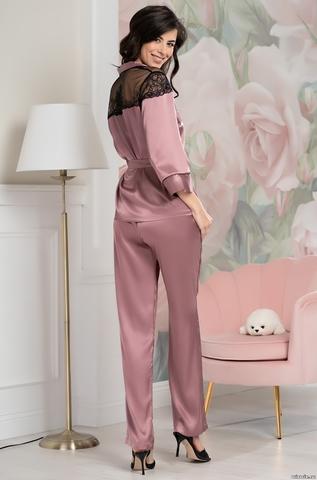 Комплект домашний с брюками Mia-Amore OLIVIA ОЛИВИЯ 3646 античная роза