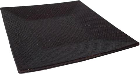 Подставка квадратная плетеная