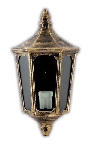 Светильник садово-парковый, 60W 220V E27 черное золото , IP44 , 4206 (Feron)