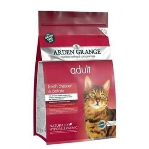 ARDEN GRANGE ADULT CAT FRESH CHICKEN & POTATO 8 кг