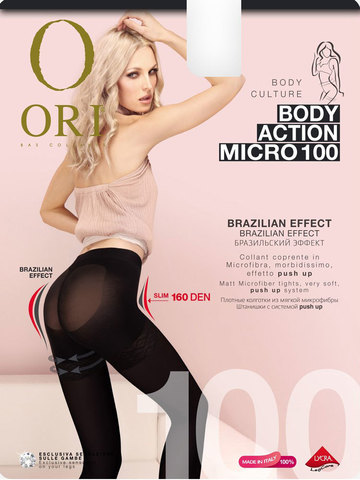 Колготки Body Action Micro 100 Ori
