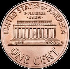 1 cent