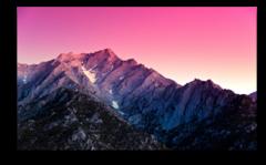 "Постер ""Утро над горами"""