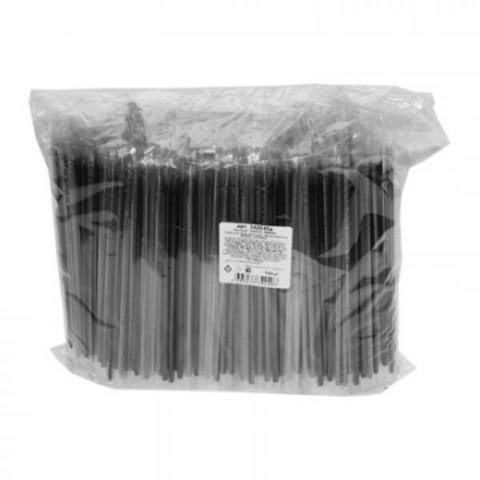 Трубочки для коктейля гофр. 210мм,d=5мм,черная в инд.упак. 700шт/уп.ПП