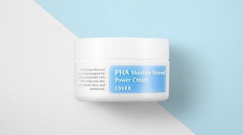 Крем с полигидроксикислотами для обезвоженной кожи, 50 мл / Cosrx PHA Moisture Renewal Power Cream