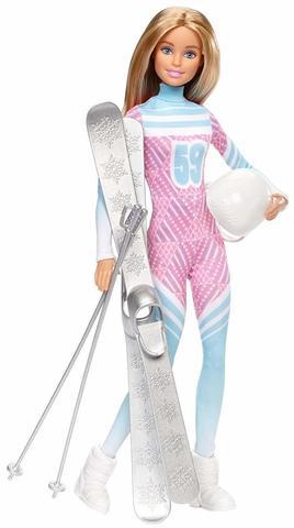 Кукла Барби Лыжник - Безграничные Движения, Mattel