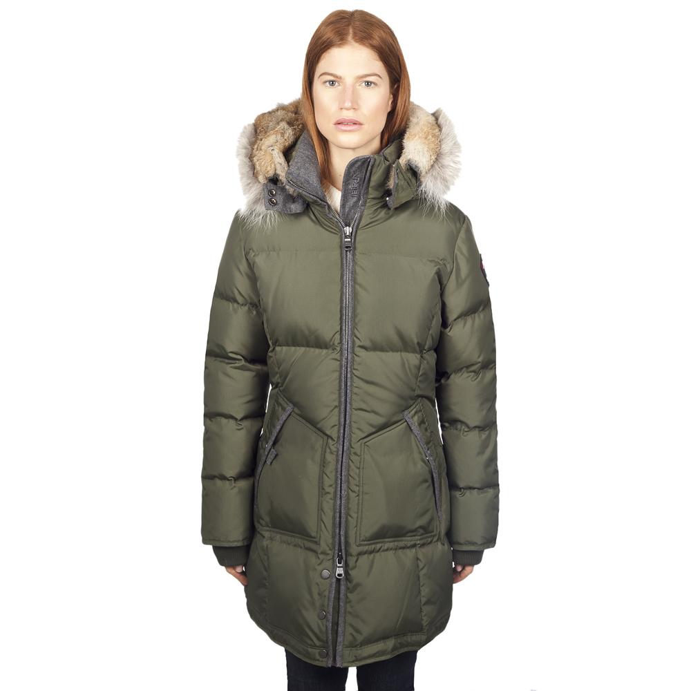 Пуховые куртки женские