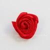 Роза атласная красная 15 мм, 5 штук