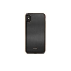 Чехол Moshi  iGlaze for iPhone XS/X черный, из ударопрочного пластика
