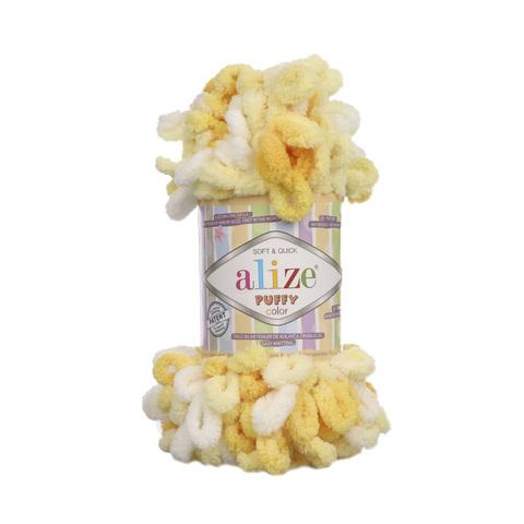 Купить Пряжа Alize Puffy Color Код цвета 5921 | Интернет-магазин пряжи «Пряха»