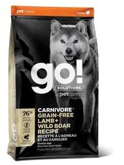 Корм беззерновой для собак всех возрастов , GO! Natural holistic, CARNIVORE GF Lamb + Wild Boar Recipe DF, с ягненком и мясом дикого кабана