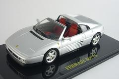 Ferrari 348 TS Targa 1985-1995 silver Altaya 1:43
