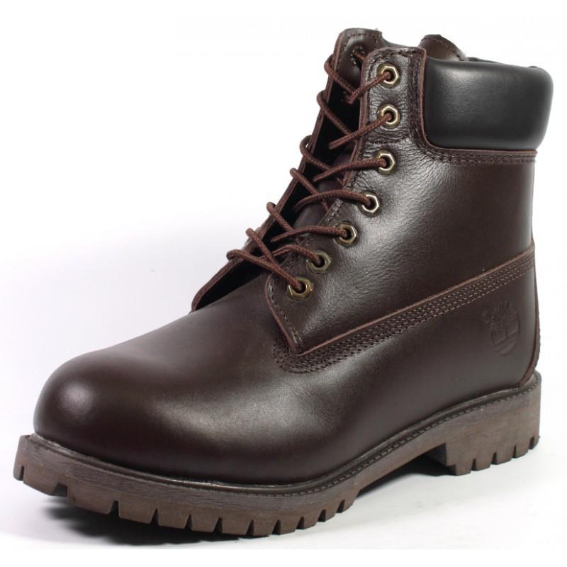 Купить мужские кожаные зимние ботинки Timberland Original Brown в интернет  магазине Stylishbag 07b0bbe1f27