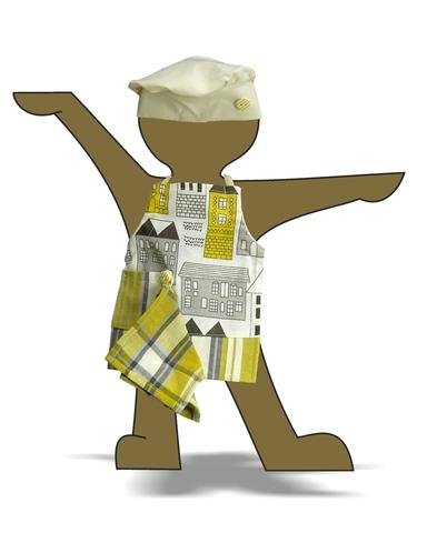 Повар - Демонстрационный образец. Одежда для кукол, пупсов и мягких игрушек.