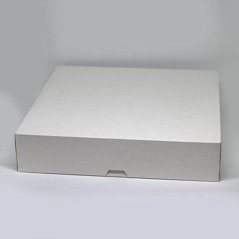 Эко-крафт коробка белая большая