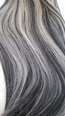 волосы на леске мелировка