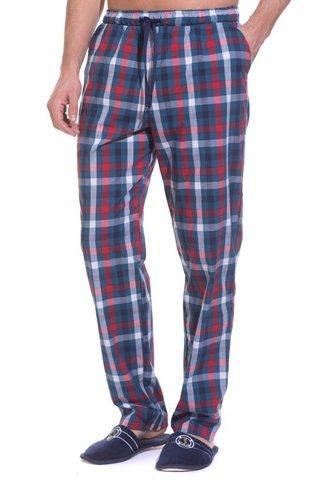 Мужские домашние брюки VIKING №002 красный (2148/1) PECHE MONNAIE Франция