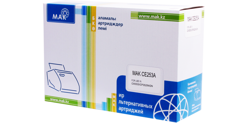 MAK №504A CE253A/Cartridge 723M пурпурный (magenta), для HP/Canon, до 7000 стр.