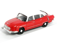 Tatra 603-1 red-white 1:43 DeAgostini Auto Legends USSR #155
