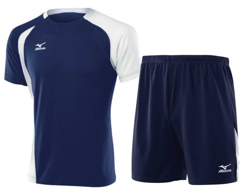 Мужская волейбольная форма Mizuno Trade (59RM352M 14-59HV351M 14) темно-синяя