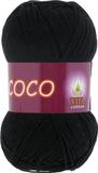 Пряжа Vita Coco черный 3852