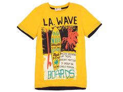 702-27 футболка детская, желтая