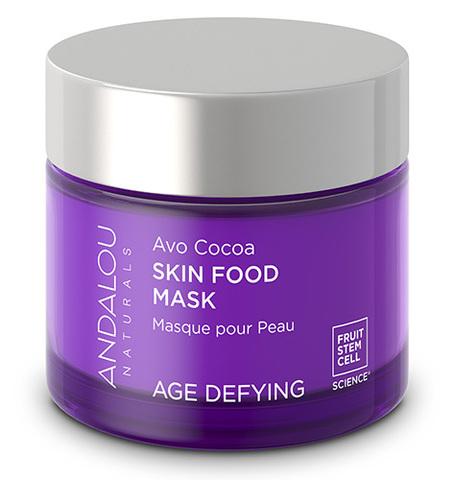 Питательная маска для лица с какао и авокадо, Andalou Naturals