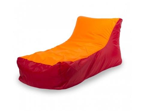 Кресло-мешок «Кушетка» Красно-Оранжевый