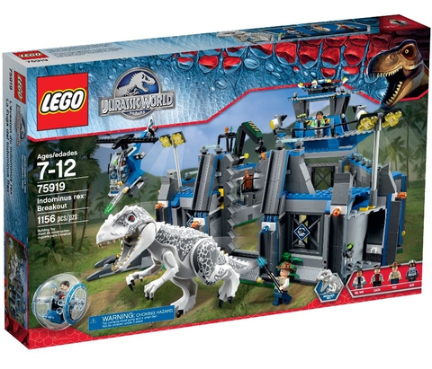 LEGO Jurassic World: Побег Ультра Динозавра 75919