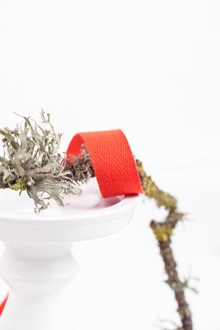 Киперная лента красная 20 мм