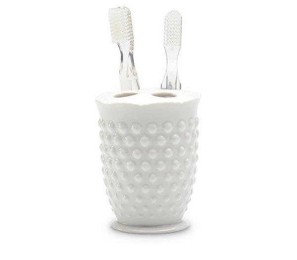 Стаканы для зубных щеток Стакан для зубных щеток Blonder Home Hobnail stakan-dlya-zubnyh-schetok-blonder-home-hobnail-ssha.jpg