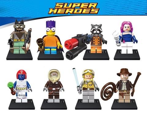Минифигурки Популярные Супергерои  серия 126