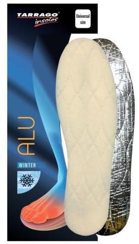 Зимние стельки на латексной основе с алюминиевой фольгой, iw1272 Tarrago ALU, Б/Р