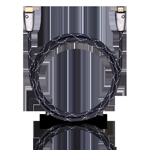 Oehlbach Easy Connect Steel HDMI 2.50m, HDMI кабель (#125)