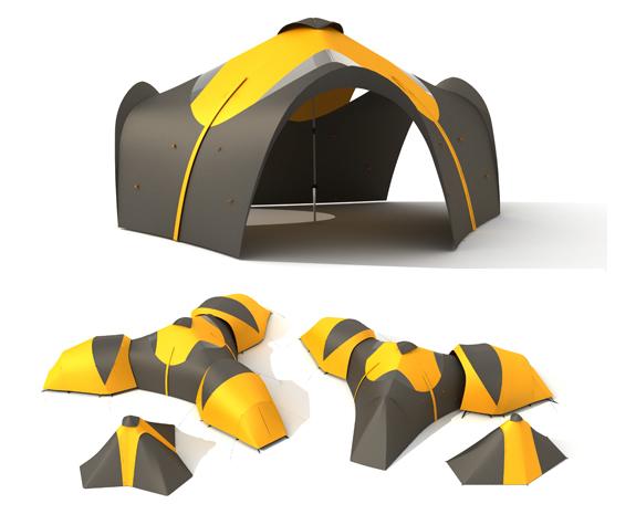Коннектор для палаток Approach Forum Central