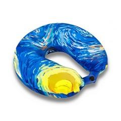 подушка для путешествий «звездная ночь» c ортопедическим эффектом memory-foam