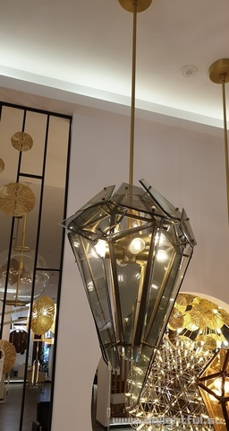 ROLL & HILL Maxhedron suspension lamp 03