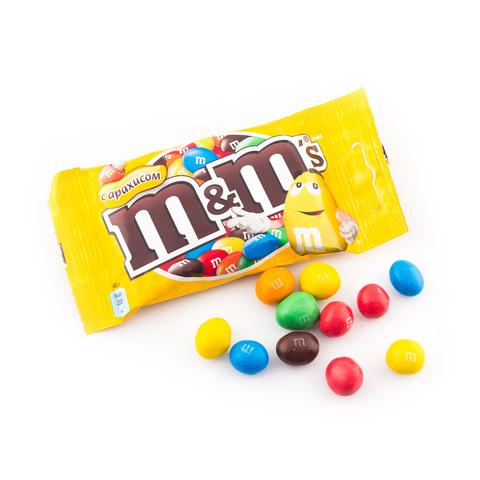 "Конфеты ""M&M's"" арахис, 45 г"