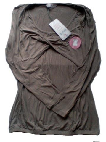 Трикотажная блузка для беременных Belly Button