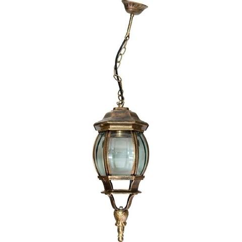 Светильник садово-парковый, 100W 230V E27 черное золото, 8105 (Feron)