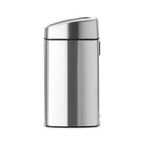 Мусорный бак Brabantia Touch Bin прямоугольный(10л), Стальной матовый (FPP), арт. 477225 - превью 3