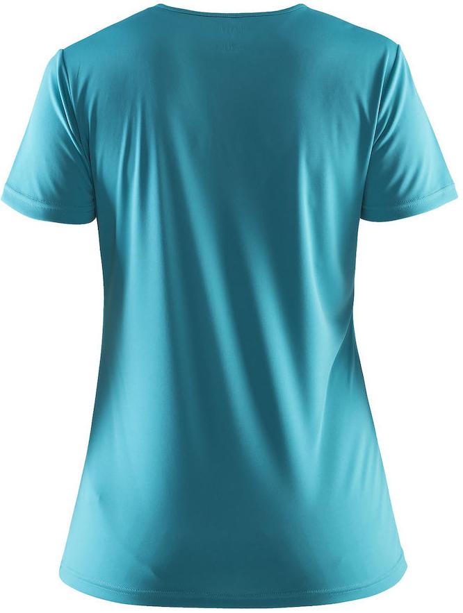 Женская беговая футболка  Craft Prime Logo (1903175-1653) фото голубая