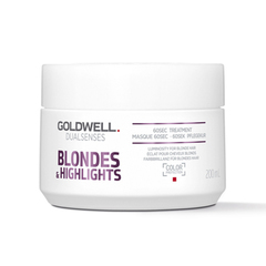 Goldwell Blondes & Highlights 60 sec Treatment - Интенсивный уход за 60 секунд для осветленных волос