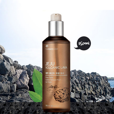 THE FACE SHOP Jeju Volcanic Lava Pore Toner, 150 ml