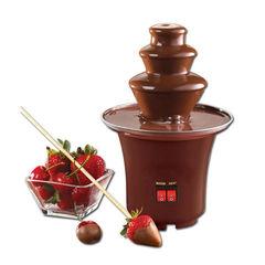 Шоколадный фонтан фондю мини (Chocolate Fondue Fountain Mini)