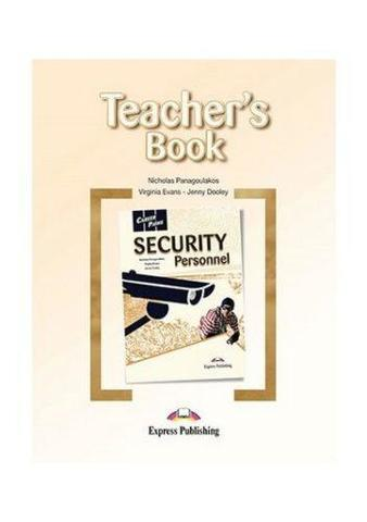 Security Personnel (Esp). Teacher's Book. Книга для учителя