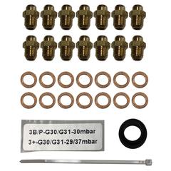 Комплект форсунок для перехода на сжиженный газ для котла Buderus U072-24