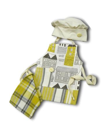 Повар - Желтый. Одежда для кукол, пупсов и мягких игрушек.