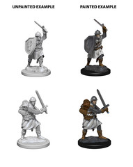 Pathfinder Deep Cuts Unpainted Miniatures - Infantrymen